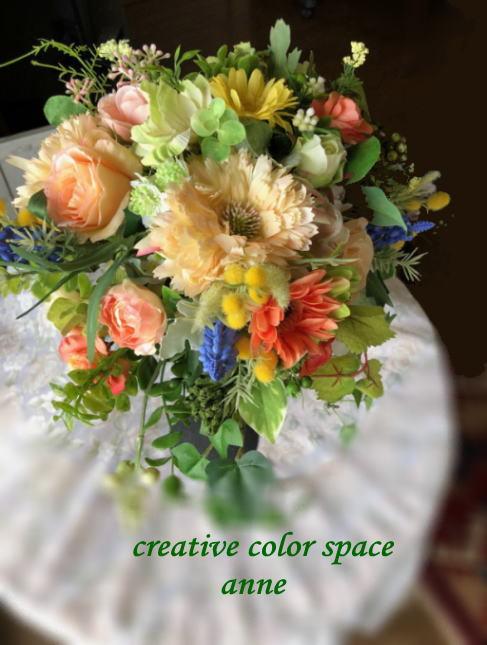 #アーティフィシャルフラワー#パーソナルカラー#春の花#ウェディングブーケ#母の日