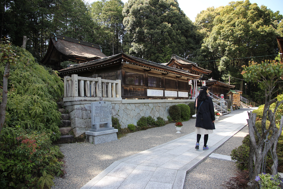 滋賀の嵐スポット・栗東市の大野神社へ行ってきました。