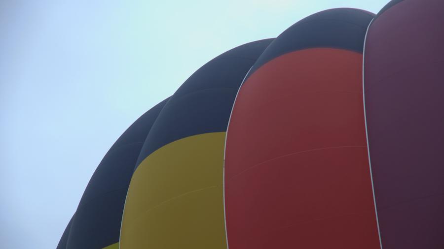 滋賀県・草津・烏丸半島の熱気球体験