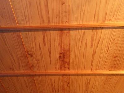 天井洗いの前の画像