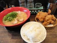 鶏の唐揚げセット(男気ラーメン)