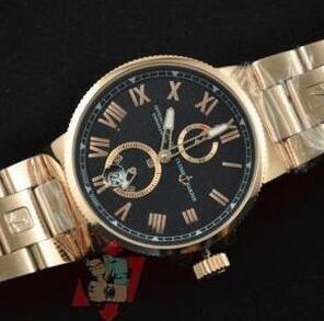 今話題のファッションユリスナルダン 激安時計
